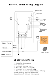 timer wiring diagram timer image wiring diagram solarattic solar pool heater solarattic solar pool heater on timer wiring diagram