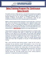 How To Develop A Sales Training Plan Sales Training Program For Continuous Sales Growth By Peter McKeon 13