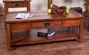 Coffee Table With Drawers Unique Finish Cherry Coffee Table