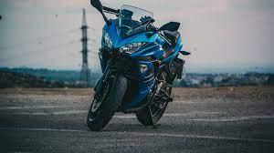 Wallpaper 4k motorcycle, bike, stylish ...