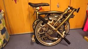 my brompton folding bike story titanium v steel akubra brompton