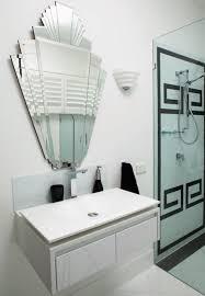 Art Deco Bathroom Mirror Style Guide Contemporary Bathrooms Wall