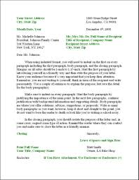 Business Letter Format Sample Template