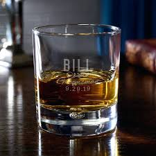 classic groomsman gift personalized whiskey glass custom scotch glasses canada personalized whiskey glasses