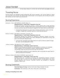 Registered Nurse Curriculum Vitae Example Resume Templates Unique ...