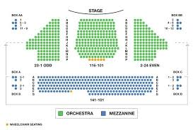 Imperial Theatre Broadway Seating Charts Correct Seating