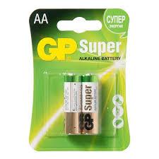 15A-U2 <b>батарейка GP Super Alkaline</b> 1.5V, пальчиковые AA LR6 ...
