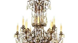 crystal and bronze chandelier antique bronze 8 light double round crystal chandelier