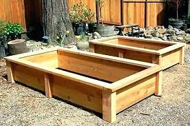 cedar garden box boxes wood touches for backyard gardens and bats planter plans simple bo