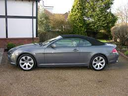 File 2005 Bmw 645ci Cabriolet Flickr The Car Spy 28 Jpg Wikimedia Commons