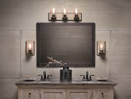 Double Sconce Bathroom Lighting Fascinating Bathroom Lighting Ideas Using Bathroom Sconces Vanity Lights And More