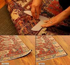 how to stop furniture sliding on hardwood and tile floors stop rugs curling with these corner weights
