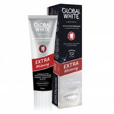 <b>Зубная паста GLOBAL WHITE</b> Экстра отбеливающая. Активный ...
