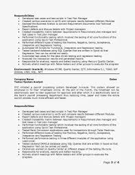Qa Tester Resume Sample Agile Scrum Qa Resume Inspirational Qa Tester Resume Samples 78