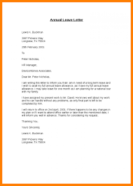 Annual Leave Email Message To Boss Request Manager Simple Business