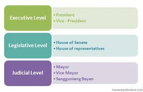 Senate Hierarchy Chart Philippines Political Structure Hierarchy