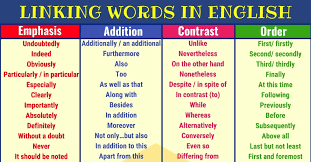 Transistion Words 120 Linking Words And Phrases In English 7 E S L