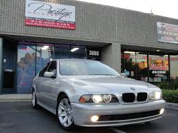 BMW 5 Series 2002 5 series bmw : 2002 Bmw 5 Series 530i 4dr Sedan In Rancho Cordova CA - Prestige ...