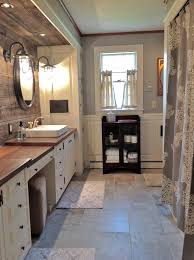 Barnwood Bathroom Unusual Materials Used In This Gorgeous Farmhouse Bathroom