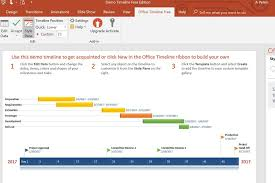 Powerpoint Office Timeline How To Create A Timeline In Powerpoint