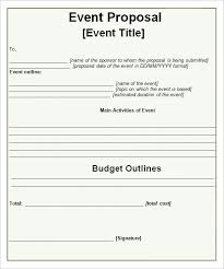 Business Proposals Templates Event Proposal Templates Proposals Pinte