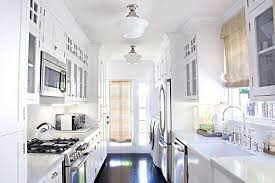 21 White Country Galley Kitchen acnehelpinfo