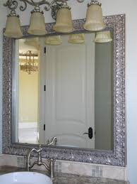Framing A Large Mirror Bathroom Mirror Frames Lowes Cool Lighted Medicine Cabinets At
