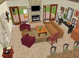 furniture placement around area rug