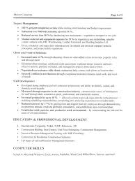 6 Construction Manager Resume Template Hr Cover Letter