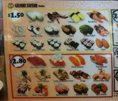 Genki Sushi Hawaii Menu, Menu for Genki Sushi Hawaii, Hawaii Kai, Rest of  Hawaii