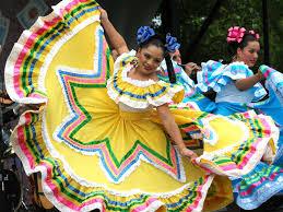 mexican people dancing. Exellent People Cinco De Mayo Clothing On Mexican People Dancing U