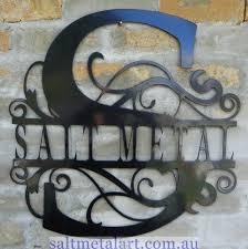 metal wall art custom metal signs
