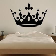 large crown wall decal vinyl princess