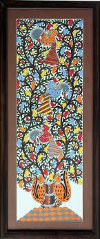 Small Picture 117 best Madhubani Folk Art India images on Pinterest Madhubani