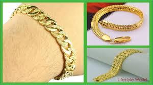Gents Gold Bracelet Design 22k Bracelet Gold Design For Men Gold Bracelet For Men Mens Gold Bracelets Collection 2018