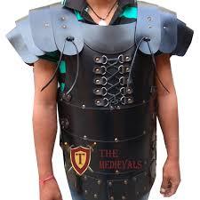 meval leather vest costumes dress genunine antique leather armor sca larp