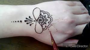 рисунок на руку мехенди фото