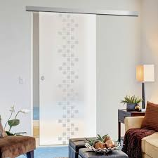 Glass Door Designs For Living Room Single Glass Sliding Door Carrington 8mm Obscure Glass Obscure Printed Design Planeo 60 Pro Kit
