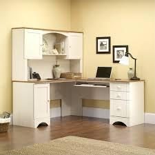 corner desk and hutch corner computer desk in antiqued white corner desk with hutch staples