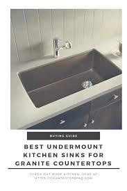 Best Undermount Kitchen Sinks For Granite Countertops Countertops Faq