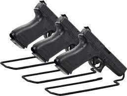 Handgun Display Stand Safe Stand Metal Handgun Pistol Gun Handgun Display Rack Storage 11