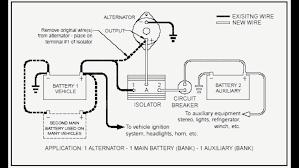 unique rv battery wiring isolator diagram battery isolator 101