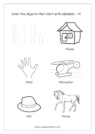 Printable pictures show the meaning of the word to learn. Alphabet Picture Coloring Pages Things That Start With Each Alphabet Free Printable Kindergarten Worksheets Megaworkbook