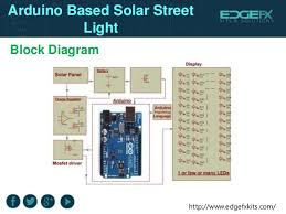 arduino based solar street light 3 edgefxkits com block diagram arduino based solar street light