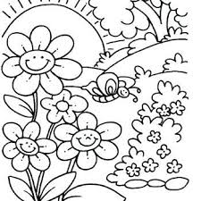 The Donald In Spring In Printable Coloring Pages Spring Coloring