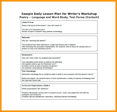 Blank Daily Lesson Plan Template – Freewarearena.info