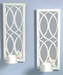 sconces silver wall sconces for candles projects idea mirrored wall sconce candle holder together with