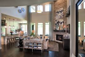san augustine decorated model great room canyon falls toll brothers in knollwood flower mound tx denton county