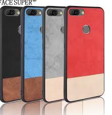 For INFINIX HOT 6 PRO Case Bi-color SPlicing PU Leather PC+TPU ...