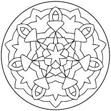 Mandalas Pour Enfants 10 Mandalas Coloriages Imprimer